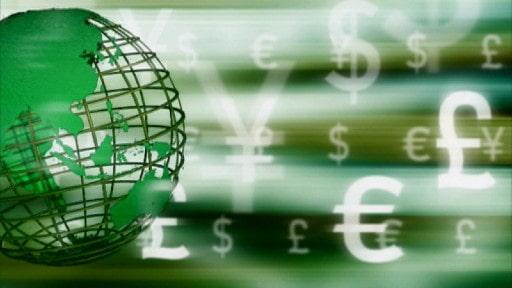 日本円ではなくドルやユーロが使われる