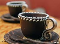 Напиток богов, чашка королевы - все из шоколада...