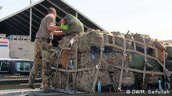 German soldiers as they prepare to withdraw from Afghanistan's North (Foto: Masood Saifullah /DW)