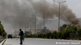 Afghanistan Explosionen und Schüsse am Parlament in Kabul