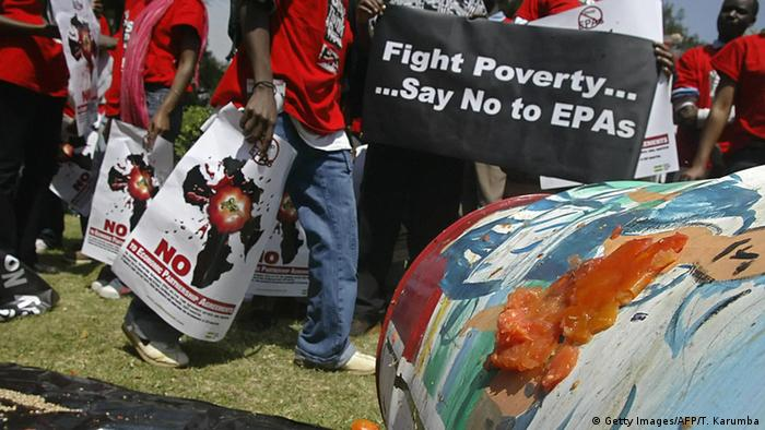 An anti EPA protest in Kenya (Photo:TONY KARUMBA/AFP/Getty Images)