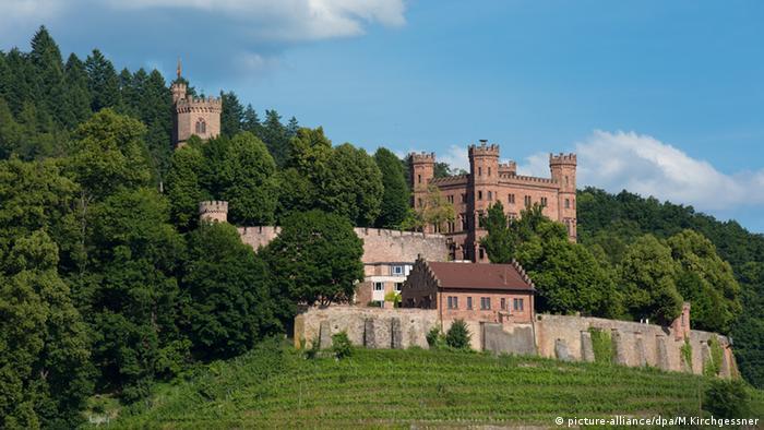 Castelo e albergue Ortenberg