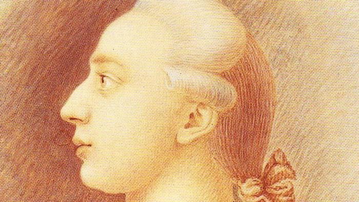 Малюнок з профілем Казанови, зроблений його братом Франческо