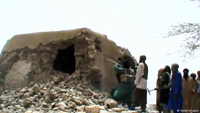 Mali Timbuktu Weltkulturerbe Zerstörung AKTUELLES BILD (Getty Images)