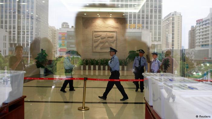 China Mordprozess Politiker Bo Xilai Gu Kailai (Reuters)