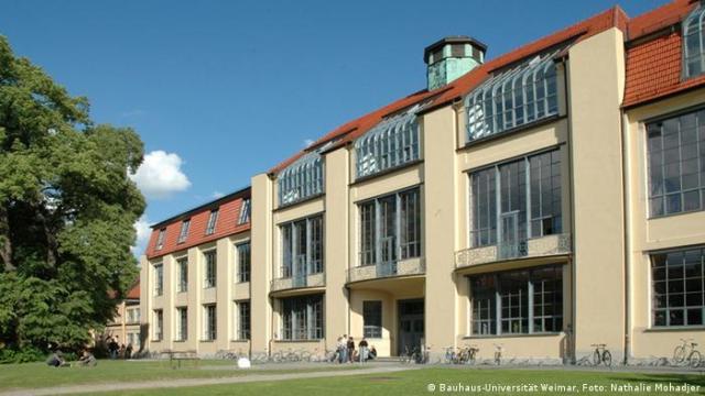 El antiguo taller de la Escuela de Arte Bauhaus en Weimar. (Bauhaus-Universität Weimar, Foto: Nathalie Mohadjer)