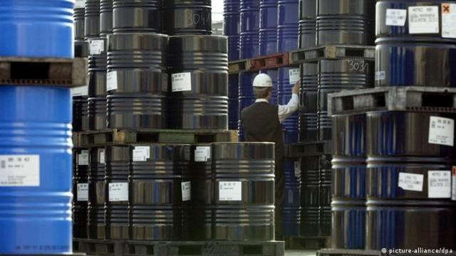 Symbolbild - Ölpreis (picture-alliance / dpa)