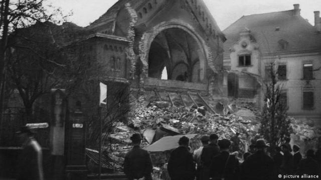 Reichskristallnacht in Chemnitz (picture alliance)