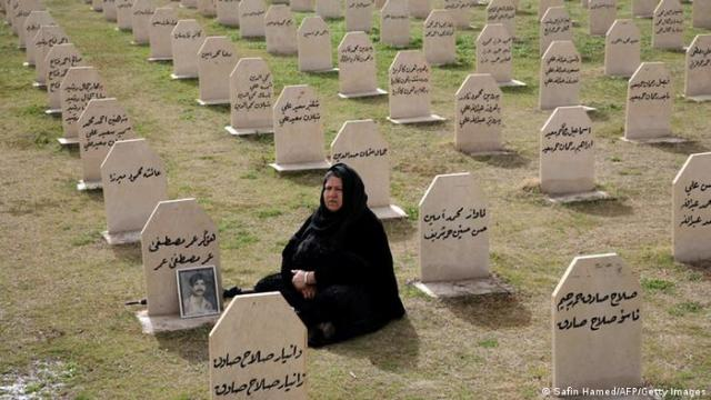 Irak Geschichte Friedhof Halabja Massaker in 1988 (Safin Hamed / AFP / Getty Images)