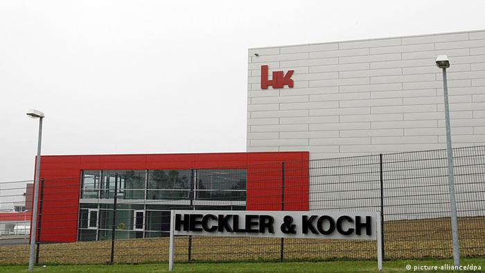 The H&K factory in Oberndorf on the Neckar (picture-alliance/dpa)