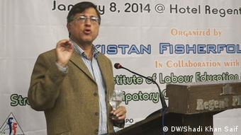 Dr. Pervez Hoodbhoy (DW/Shadi Khan Saif)