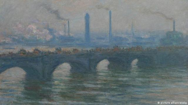 Клод Моне. Міст Ватерлоо