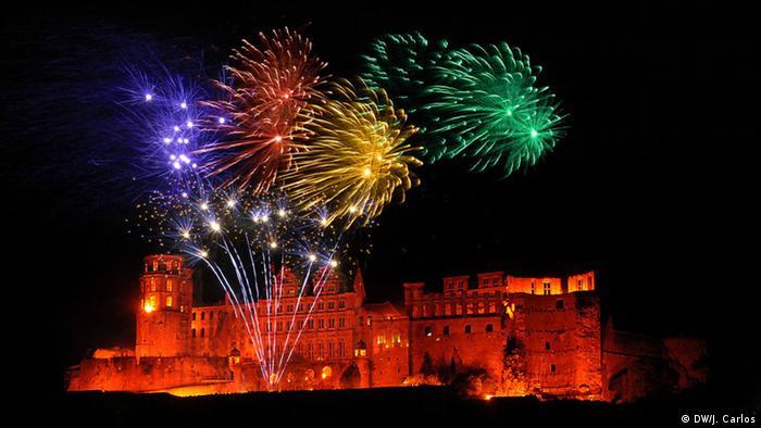 Heidelberg Castle Fireworks (DW / J. Carlos)