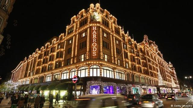 Bildergalerie Kaufhäuser Harrods London (Getty Images)