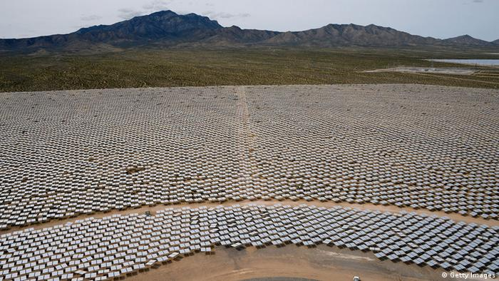 Concentrated solar park in Ivanpah, California (Getty Images)