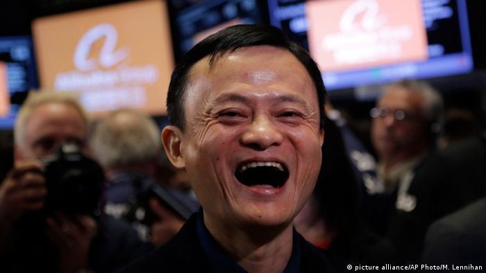 Jack Ma (picture alliance/AP Photo/M. Lennihan)
