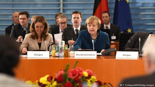 Integrationsgipfel in Berlin (Angela Merkel)
