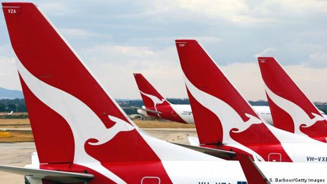 Airport airlines Qantas (S. Barbour / Getty Images)