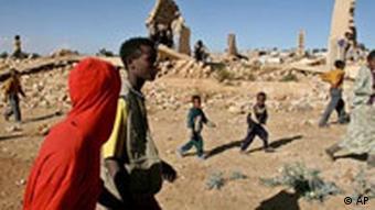 Grenzgebiet zwischen Eritrea und Äthiopien (AP)