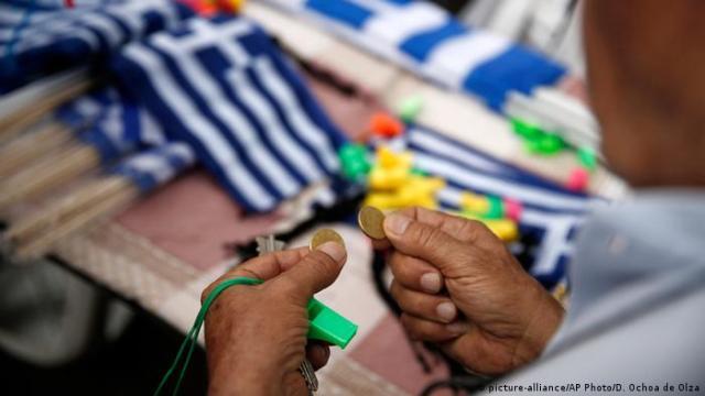 Griechenland Athen Schuldenkrise (picture-alliance / AP Photo / D. Ochoa de Olza)