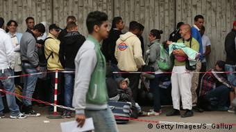 Deutschland Zentrale Aufnahmestelle für Asylbewerber Berlin