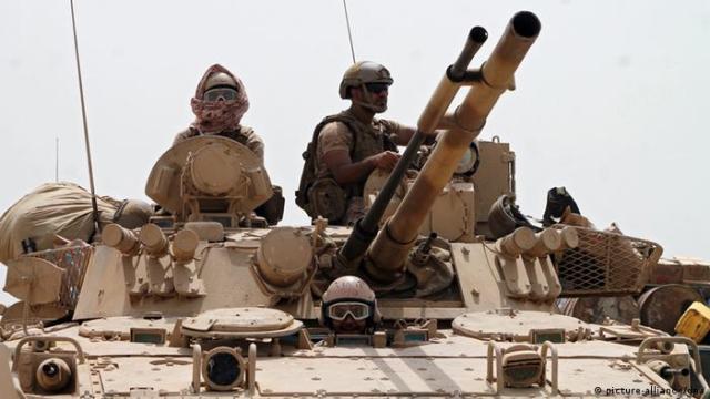 Jemen Saudi-Arabische Truppen (picture-alliance / dpa)