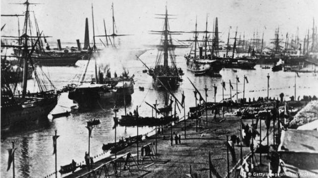 Gygypten Eröffnung Suez Kanal 1869 (Getty Images / Hulton Archive)