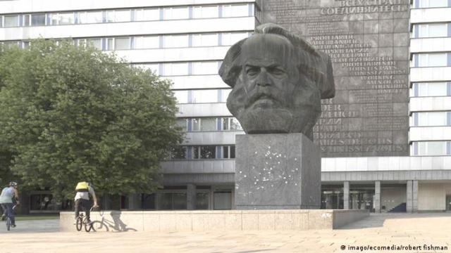 Deutschland Chemnitz Karl Marx Denkmal (imago / ecomedia / robert fishman)