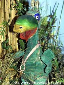 Urmel Puppe marionette (picture alliance/dpa/S. Puchner)