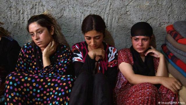 Irak Jesidische Frauen Flüchtlinge (Imago / ZUMA Press)