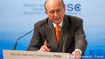 München Sicherheitskonferenz - Wolfgang Ischinger (Getty Images/L. Preiss)