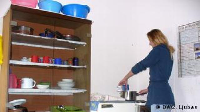 Zagrijavanje mlijeka na 'raspadajućem' štednjaku