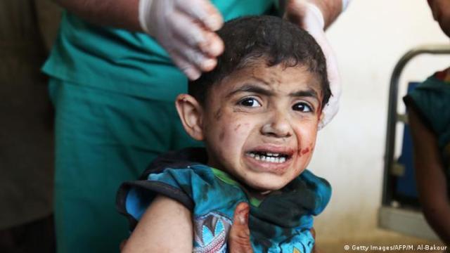 Syrien Luftangriffe in Maaret al-Numan (Getty Images / AFP / M. Al-Bakour)