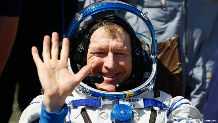 Kasachstan Landung ISS Crew-Mitglieder Tim Peake