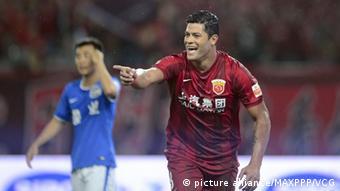 Hulk foi transferido para o Shanghai SIPG por 55,8 milhões de euros
