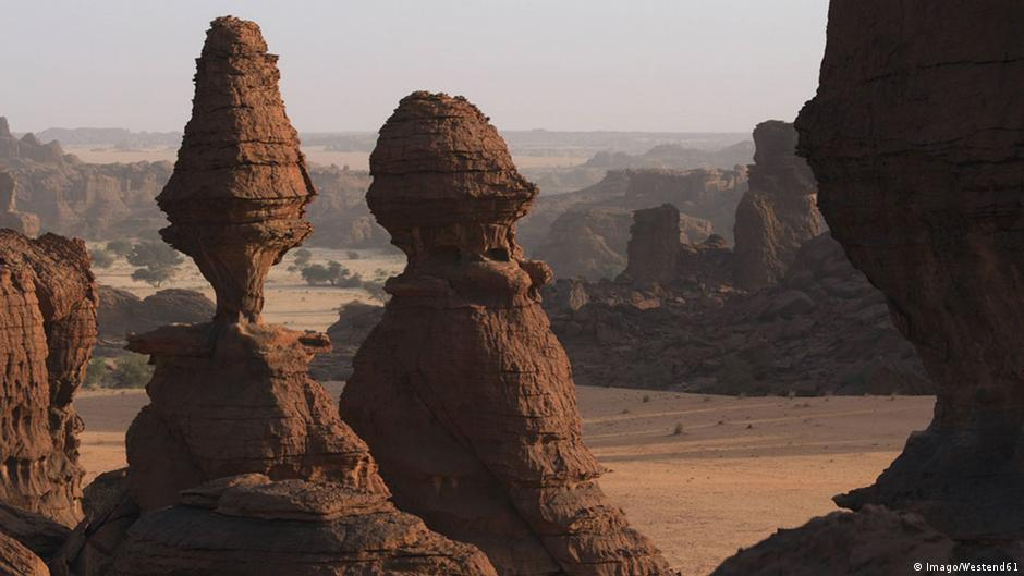 Image result for image of the Terkezi Oasis in Chad