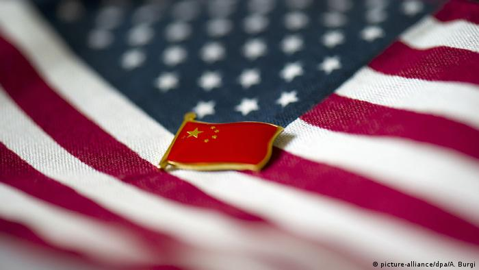 Symbolbild Beziehungen zwischen China und den USA (picture-alliance/dpa/A. Burgi)