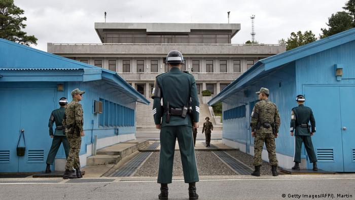 Nordkorea Südkorea Konflikt DMZ UN (Getty Images/AFP/J. Martin)