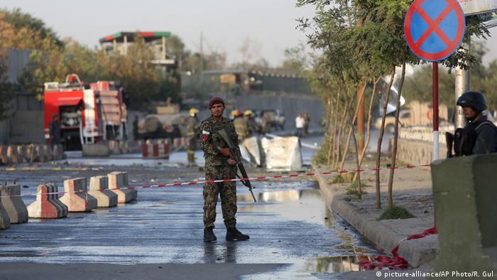 Afghanistan Selbstmordattentat in Kabul