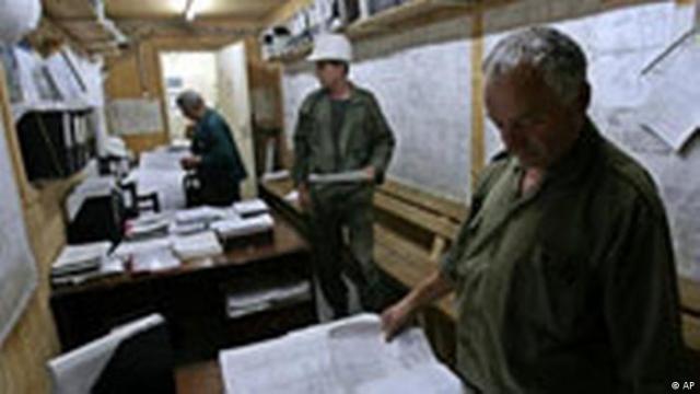 Iranisches Atomkraftwerk (AP)