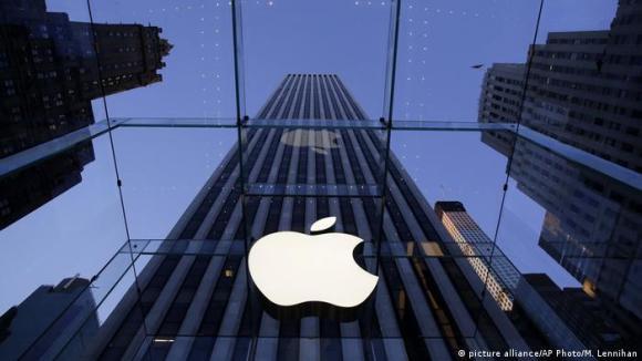 Apple Geschäft (picture alliance/AP Photo/M. Lennihan)