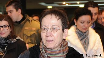 Gudrun Steinacker (DW/P. Stojanovski)
