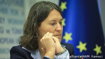 Kati Piri Brussels parliamentarian from the Netherlands (picture alliance/AA/M. Kamaci )