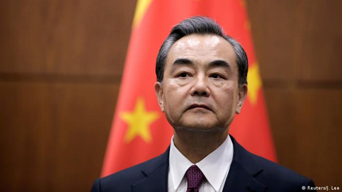 China Aussenminister Wang Yi (Reuters/J. Lee)