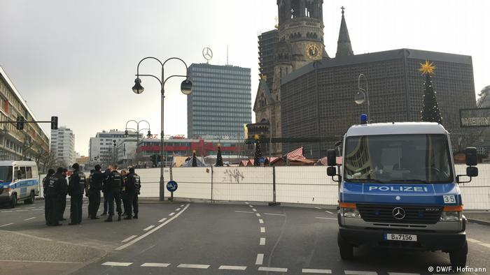 Deutschland Breitscheidplatz nach dem Anschlag in Berlin (DW/F. Hofmann)