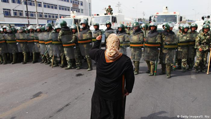 China Xinjiang Ürümqi Uiguren Protest (Getty Images/G. Niu)