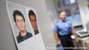 Fahndungsfotos des gesuchten Tunesiers Anis Amri (picture alliance/dpa/A. Dedert)