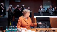 Deutschland Merkel vor dem NSA Untersuchungsausschuss (Reuters/A. Schmidt )