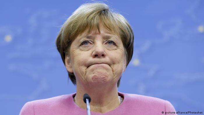 Belgien Angela Merkel in Brüssel (picture-alliance/Photoshot)