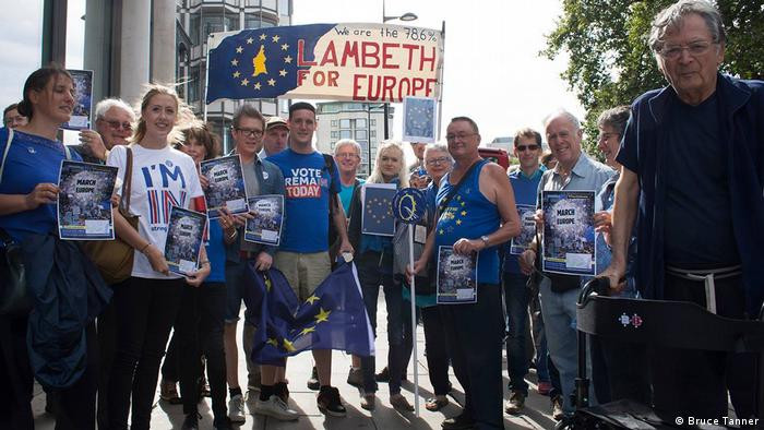 Unite for Europe march in London (Bruce Tanner)